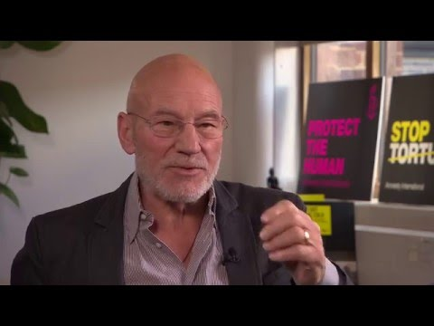 Sir Patrick Stewart on torture, playing Picard, and gay wedding cakes