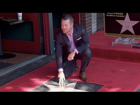 Chris O'Donnell Star on the Hollywood Walk of Fame