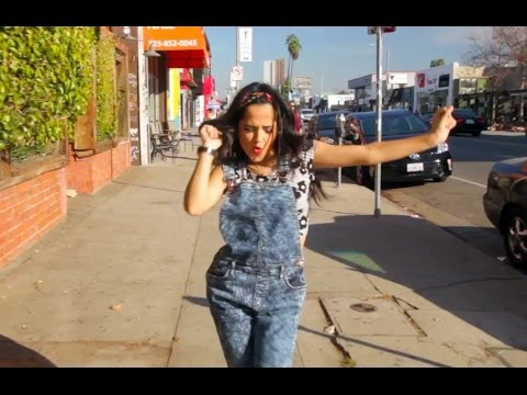 """Becky G. Dances To """"Happy"""" 