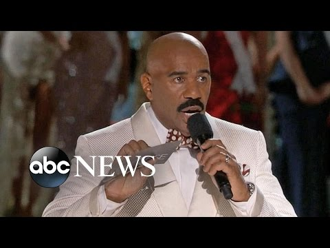 Steve Harvey Crowns Wrong Woman Miss Universe