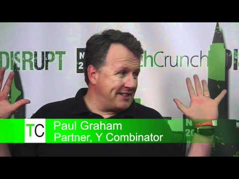 Disrupt Backstage: Paul Graham