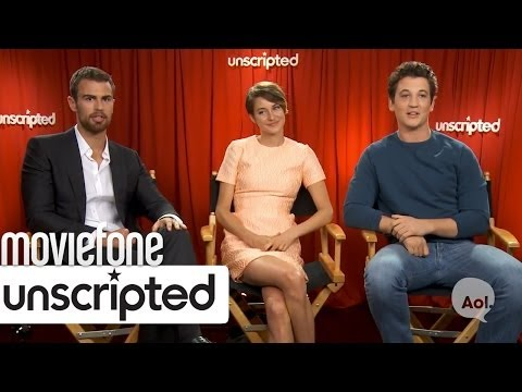 'Divergent' | Unscripted | Moviefone