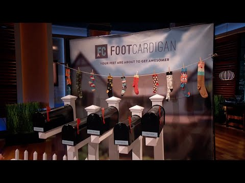 Foot Cardigan - Shark Tank First Pitch