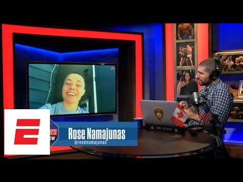 Rose Namajunas: I said 'f- – that' to Conor McGregor's apology | Ariel Helwani's MMA Show | ESPN