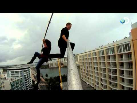 LIFE ON A WIRE | Premiering June 22, 2011 (High Wire Pole Cam from 6/4/11 in Puerto Rico)