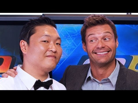 PSY Talks Gangnam Style with Seacrest - PART 1   Interview   On Air With Ryan Seacrest
