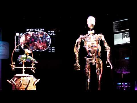 The First Disney AUTONOMOUS Animatronics - OTTO