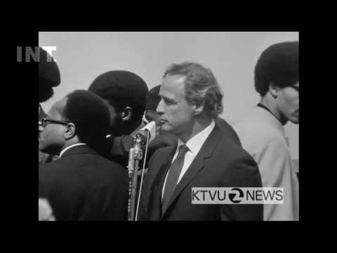 Marlon Brando eulogizes Black Panther Bobby Hutton (1968) - from the EDUCATION ARCHIVE