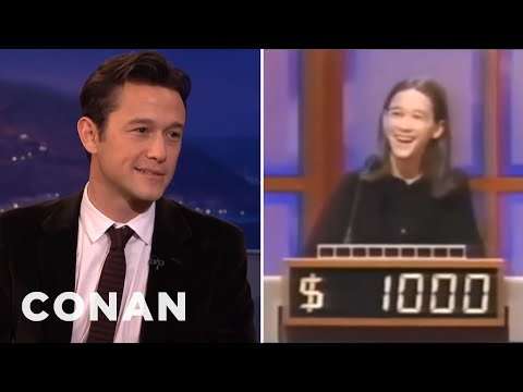 "Joseph Gordon-Levitt's Throwback ""Jeopardy!"" Appearance - CONAN on TBS"
