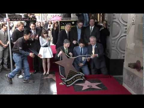 JAMES FRANCO HONORED WITH HOLLYWOOD WALK OF FAME STAR