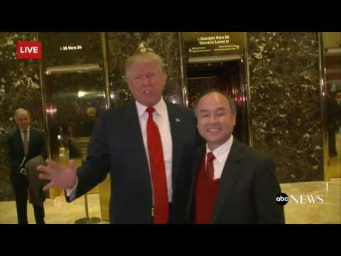 Trump: SoftBank CEO Agreed to Invest $50B in US