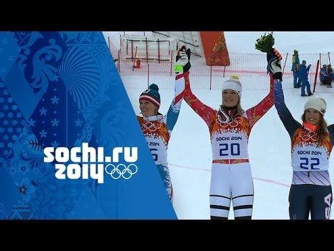 Ladies' Alpine Skiing - Super Combined - Höfl-Riesch Wins Gold | Sochi 2014 Winter Olympics