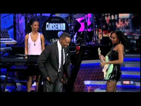 Malina Moye on Arsenio Hall Show