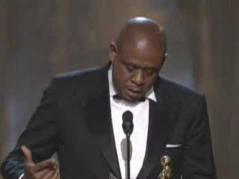 Forest Whitaker winning Best Actor