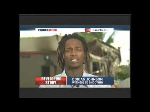 Interview of Dorian Johnson (with Mike Brown during shooting) on PoliticsNation Aug 12 2014