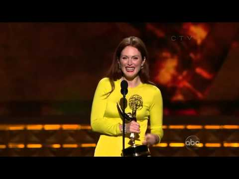 "Julianne Moore winning an Emmy for ""Game Change"""