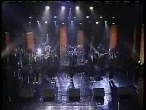 New Edition sing Can you Stand the Rain on Arsenio Hall