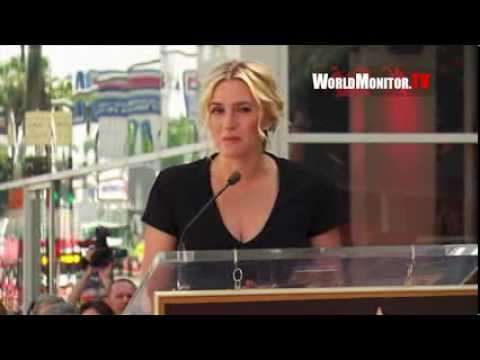 Kate Winslet Honored With Star On The Hollywood Walk Of Fame!