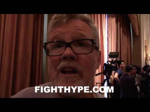 "FREDDIE ROACH CLOWNS CONOR MCGREGOR; SAYS HE ""PUNCHES LIKE A GIRL"""