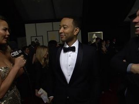 56th Grammy Awards - John Legend Interview