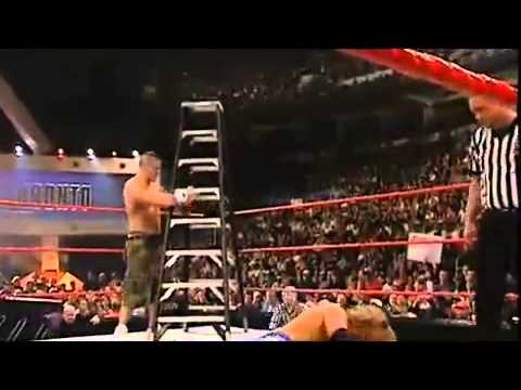 Edge Vs John Cena - TLC Match - WWE Championship - Unforgiven 2006 -