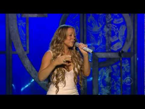 Mariah Carey - We Belong Together / Fly Like A Bird (Live at the Grammy's)