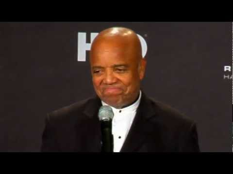 Berry Gordy Jr. on 2012 Inductees the Miracles