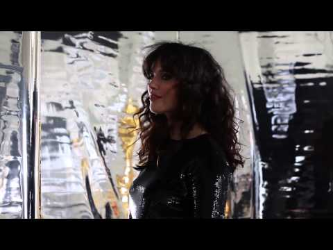 Actress Jessica Brown Findlay - behind-the-scenes of her cover shoot for Tatler
