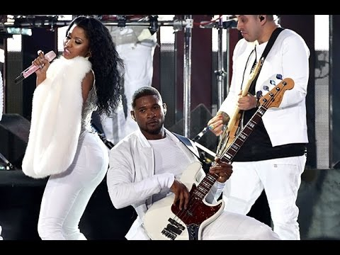 Usher Performance at VMA's 2014 (ft. Nicki Minaj) [She Came To Give It To You] [HD]