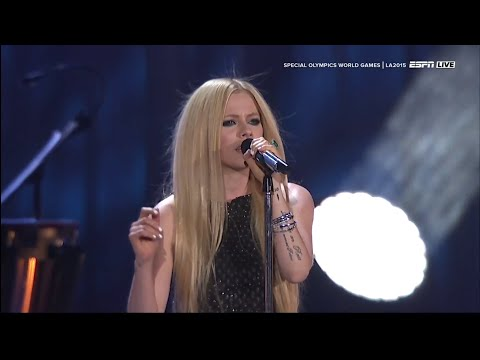 Avril Lavigne - Fly (Live on Special Olympics World Games 2015 )