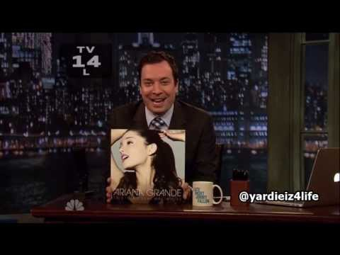 Ariana Grande - The Way ft Mac Miller Live @ Late Night With Jimmy Fallon (720p)