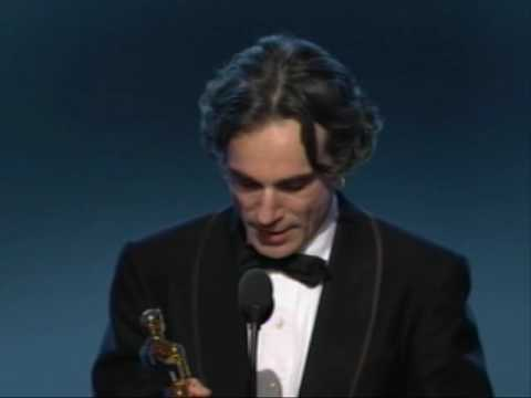 """Daniel Day-Lewis winning an Oscar® for """"There Will Be Blood"""""""