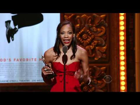 Nikki M. James wins Tony Award for Best Featured Actress in a Musical