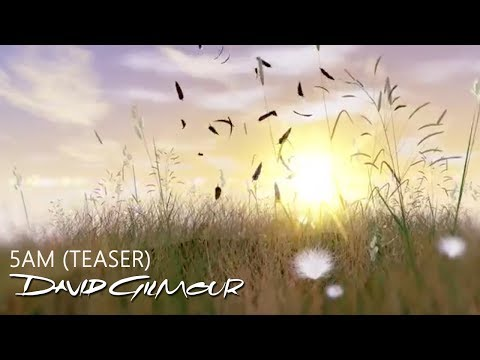 David Gilmour - 5AM Teaser
