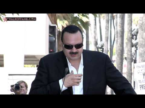 PEPE AGUILAR HONORED WITH HOLLYWOOD WALK OF FAME STAR