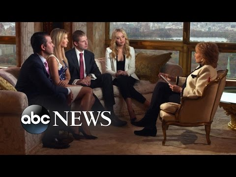 Donald Trump's Wife, Children Talk About His Campaign, Home Life