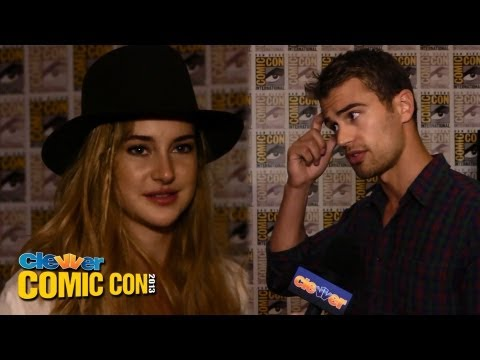 DIVERGENT Stars Share Favorite Scenes & Discuss Characters - 2013 Comic-Con