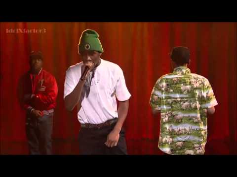 Tyler, The Creator - Rusty [ Live On Letterman} With Domo And Earl