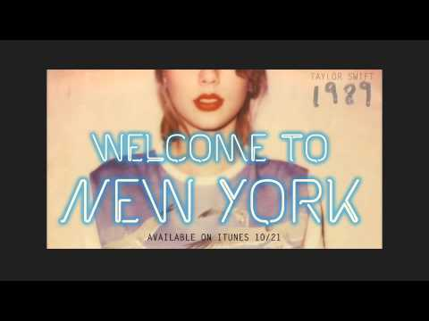 """Preview """"Welcome To New York"""" by Taylor Swift"""