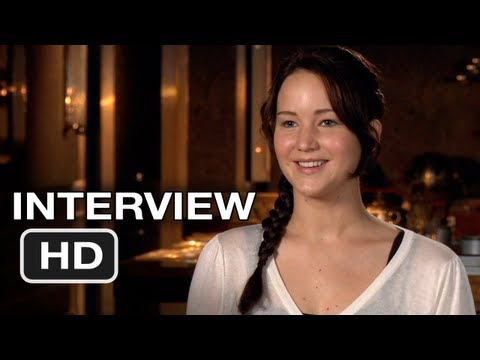 The Hunger Games - Jennifer Lawrence Interview (2012) HD Movie