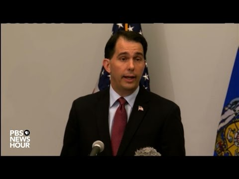 Scott Walker drops out of 2016 presidential race