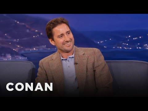 Luke Wilson Always Falls In Love With His Costars - CONAN on TBS