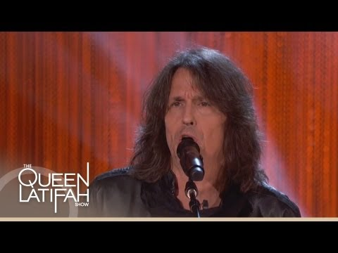 """Foreigner Performs """"Feels Like the First Time"""" on The Queen Latifah Show"""