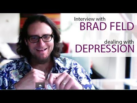 Dealing with Depression / MDD an Interview with Brad Feld - Kati Morton Mental Health Videos