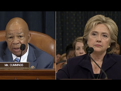 Hillary Clinton answers questions on Benghazi emails, Chris Stevens