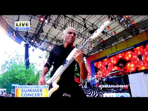 """No Doubt - """"It's My Life"""" (Good Morning America, July 27, 2012)"""