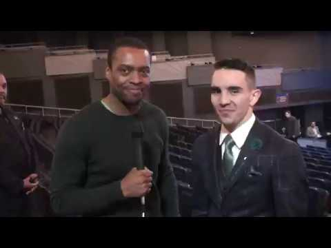 Michael Conlan: Irish Fans BETTER than Mexican Fans! Conor McGregor Carrying Flag for My Fight!