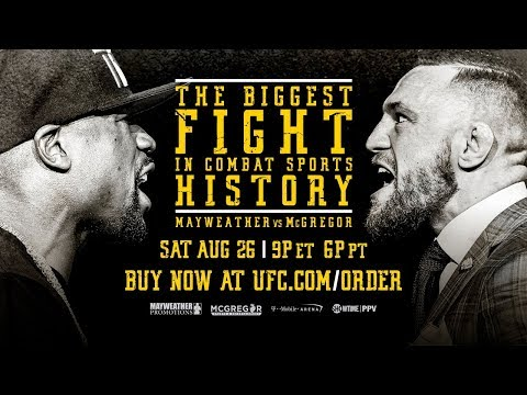 Mayweather vs McGregor: Conor McGregor Media Conference Call