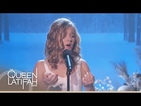 Jackie Evancho Performs 'O Holy Night' on The Queen Latifah Show