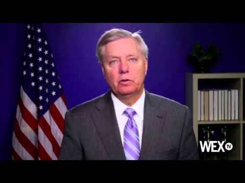 Sen. Lindsey Graham addresses the Southern Republican Leadership Conference